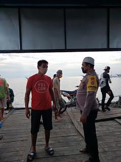 Bhabinkamtibmas Pulau Barrang Lompo Imbau Warganya Tidak Percaya Berita Hoax