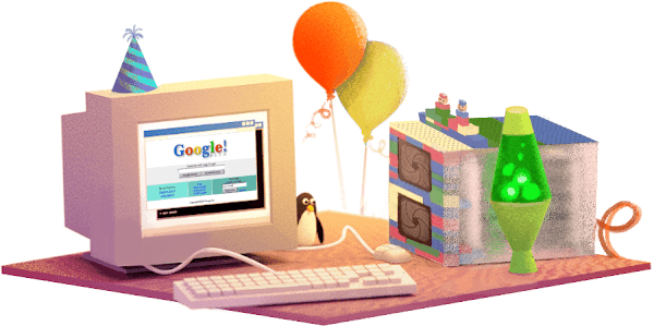 Google celebrates its 17 birthday on September 27 - Official Website - BenjaminMadeira