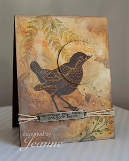 die cut, bird, bloom art stamps