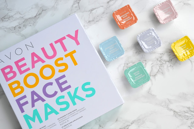 Avon Beauty Boost Face Masks Review