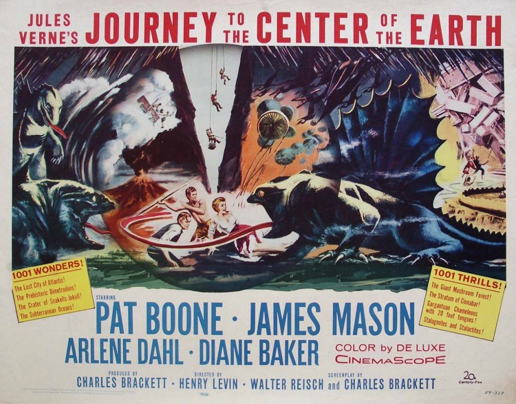 A Vintage Nerd, Classic Film Blog, Classic Film Recommendations, Journey To The Center of the Earth