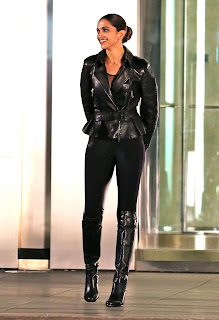 Deepika Padukone in Tight Black Top and Trousers from hollywood movie The Return Of Xande