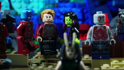 Junho na Amazon Prime Video - Lego Marvel Guardiões da Galáxia