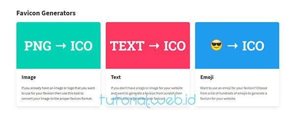 Cara Buat Favicon Online 1 Pilih Cara Buat ICO