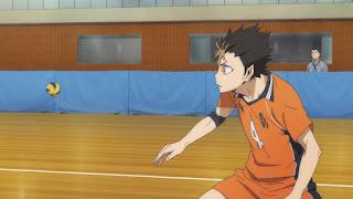 ハイキュー!! アニメ 3期1話   西谷夕 Nishinoya Yu   Karasuno vs Shiratorizawa   HAIKYU!! Season3