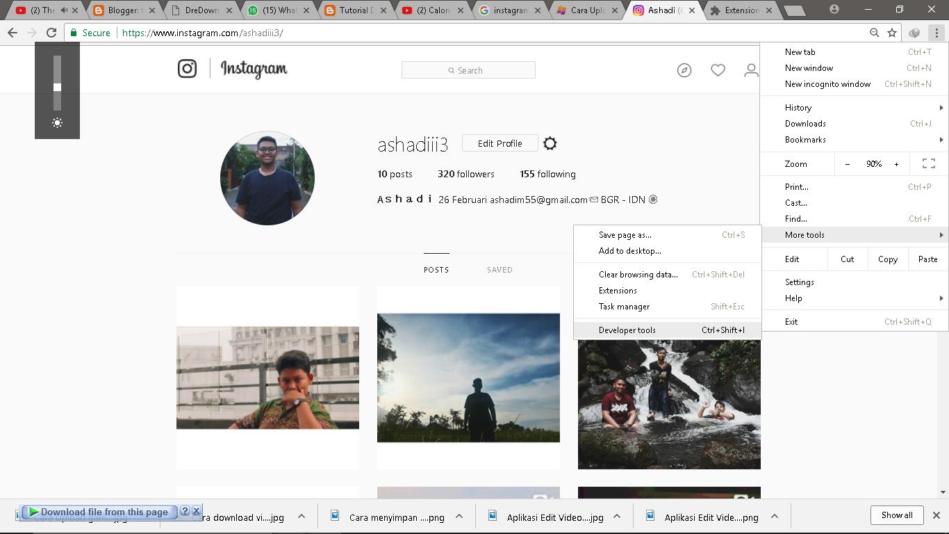 Cara Upload Foto Instagram Lewat PC/Laptop Dengan Mudah ...