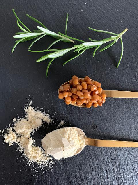 Knusprige Linsenbratlinge, Rezept, glutenfrei, vegan, recipe, lenses, patties, gluten-free, recette, lentilles, galettes, sans gluten, végétalien