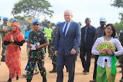 Sekjen PBB Kunjungi Satgas TNI Konga XXXIX-B RDB di Afrika