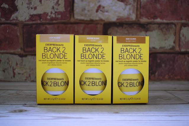 Everpro Beauty Back 2 Blonde temporary root concealer magnetic powder