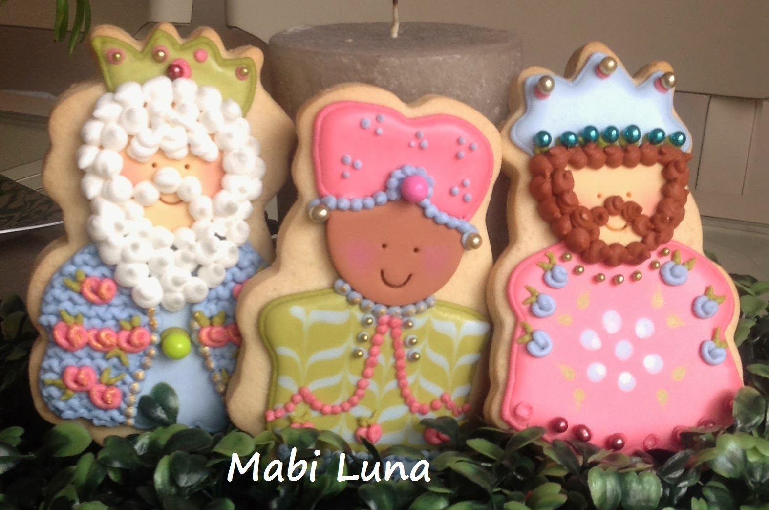 Mabi Luna Galletas De Reyes Magos Taller Con Muy Dulce