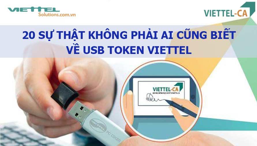 Ảnh minh họa: 20 sự thật về USB token Viettel