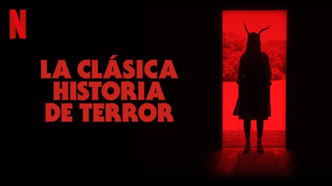 Póster de la clásica historia de terror de netflix
