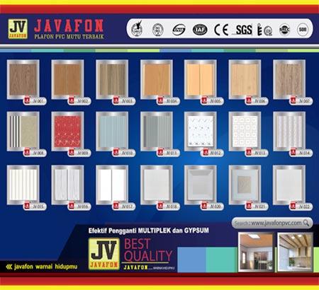 Plafond PVC Javafon