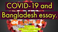 COVID-19 and Bangladesh essay.