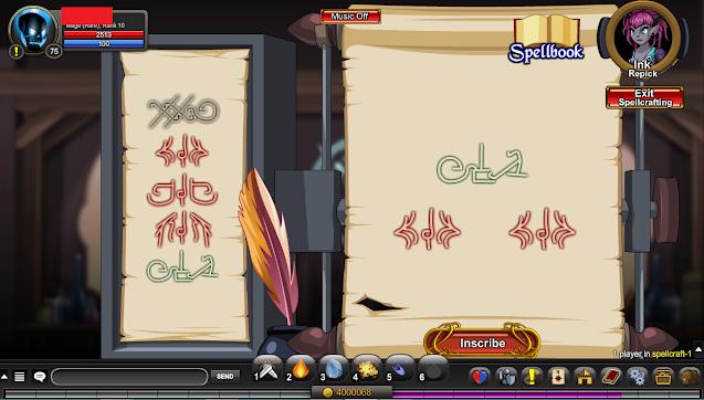 arch paladin spellcrafting step 1