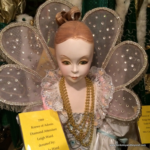 costume at the Mardi Gras Museum of Imperial Calcasieu in Lake Charles, Louisiana