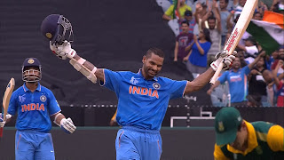 Shikhar Dhawan 137 - India vs South Africa Highlights - 13th Match - ICC Cricket World Cup 2015