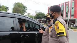 TNI-Polri Serta Satpol PP Razia Masyarakat Tidak Pakai Masker di Kota Langsa