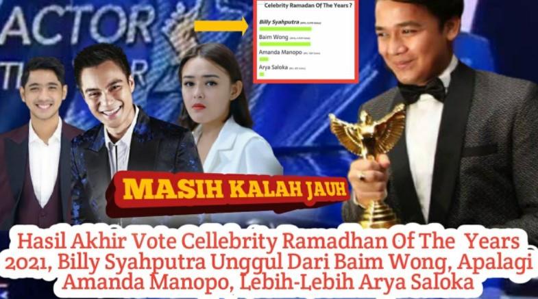 Vote Celebrity Ramadan of The Year 2021