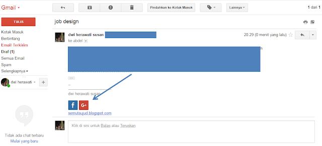 Menambahkan icon sosial media di signature gmail Menambahkan icon sosial media di signature (tkamu tangan) gmail