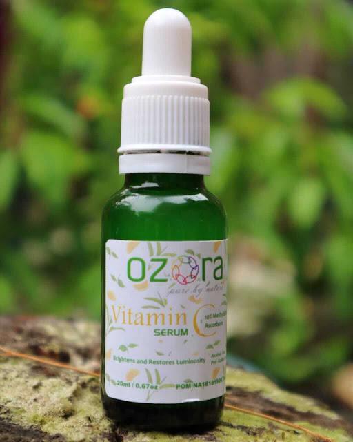 Serum vitamin C lokal murah yang bisa mencerahkan kulit sekaligus bisa sebagai anti aging adalah Ozora Serum Vitamin C