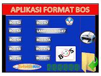 Aplikasi BOS Sesuai Juknis Terbaru  K1,K2,K3,K4,K5,K6,K7,K7A,K7B,K7C Lengkap Format Excel