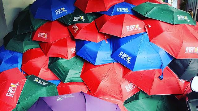 Sablon Payung BPPT