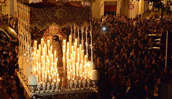 El Cristo de Burgos, una nueva orfebrería para el palio y el próximo Miércoles santo