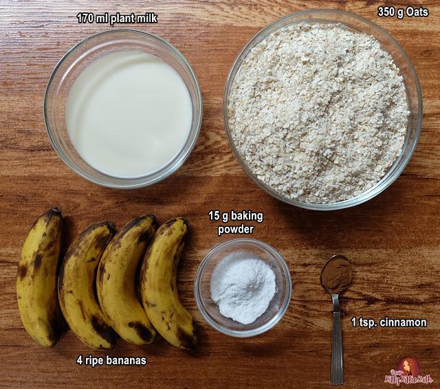 Receita de pão de banana vegan de macaco robusto | Querida Kitty Kittie Kath 4