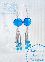 Sapphire Dangle Earrings
