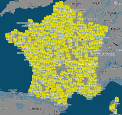 November 2018 yellow vests protesters in France.