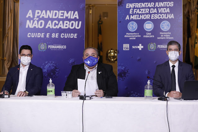 Região Metropolitana, Zona da Mata e Agreste voltam a avançar no Plano de Convivência