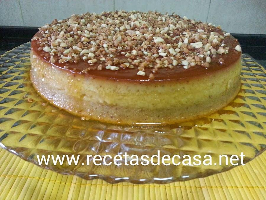 tarta de avellanas cocina facil