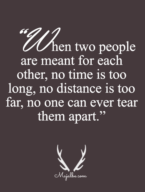 There's Nothing Can Make You And Me Apart Love Quotes