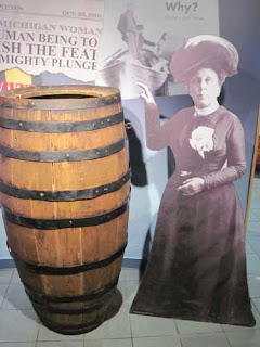 Annie Taylor & Her Barrel.