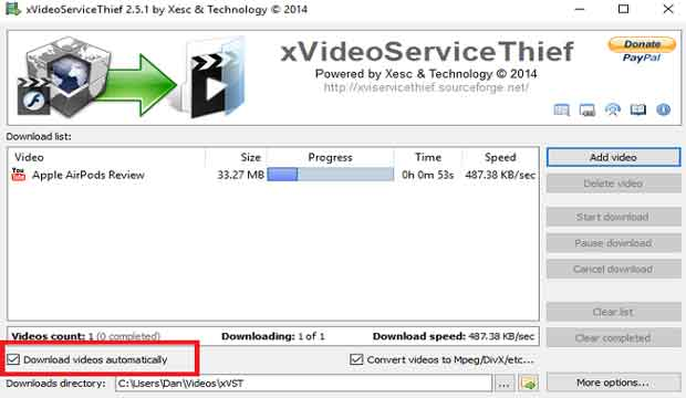 download video xVideoServiceThief