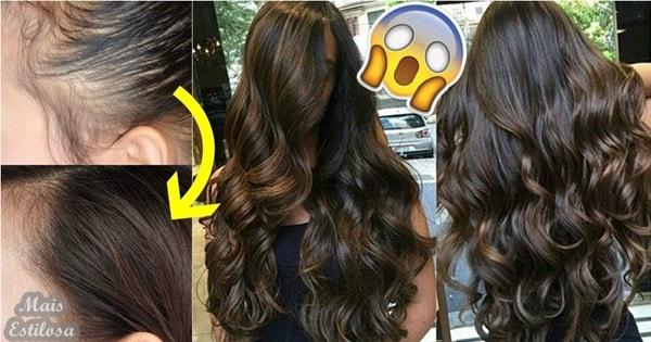 como fazer o cabelo crescer extremamente rapido