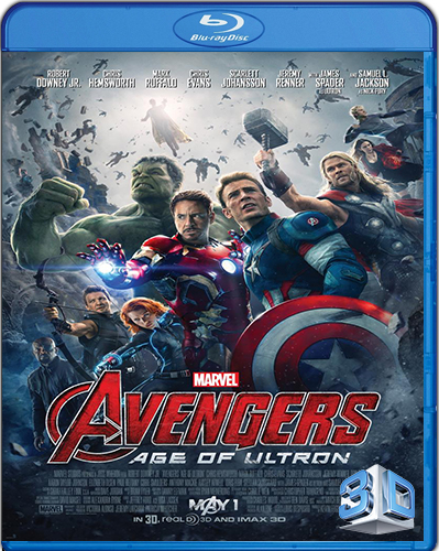The Avengers: Age of Ultron [BD50] [3D] [2015] [Latino]