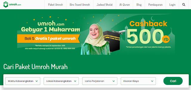 10 Kelebihan Pesan Paket Umroh Promo Di Umroh.Com