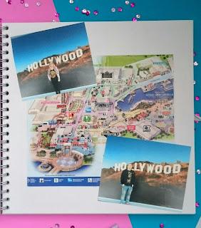 Universal Studios Scrapbook