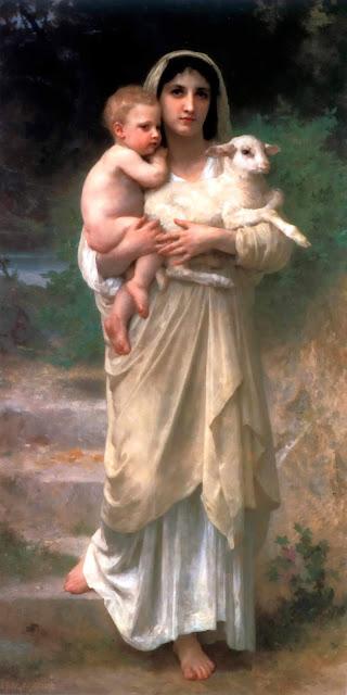 Адольф Вильям Бугро - Агнец (1897)