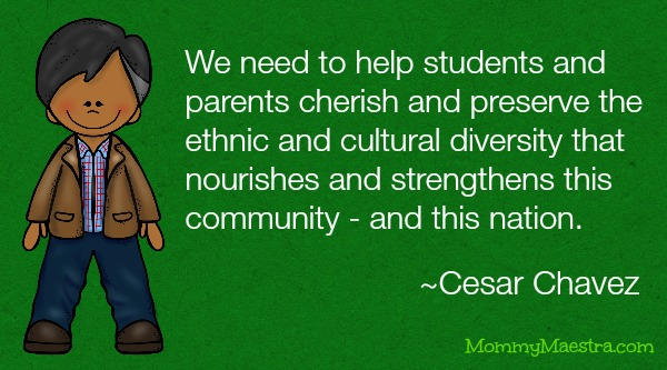 Mommy Maestra Cesar Chavez Lesson Plans Activities