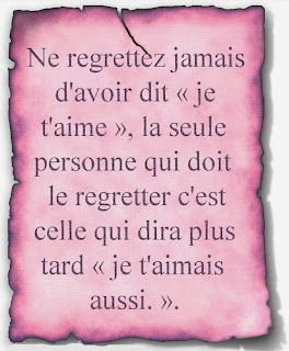 citations regrets amour