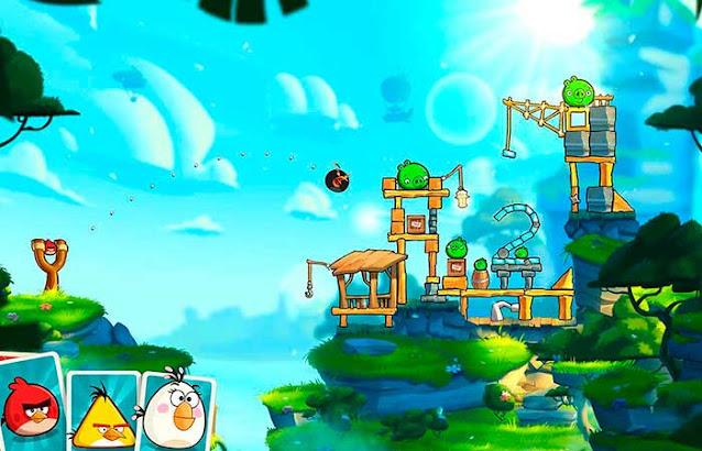 angry bird 2 juego sin internet