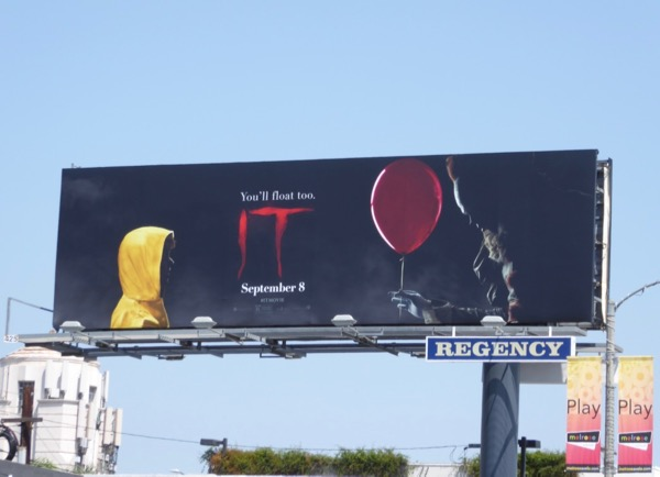 IT movie billboard