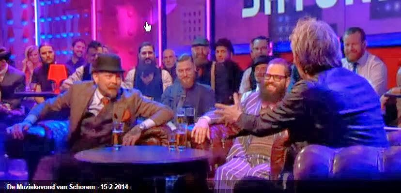 Barbier Schorem Haarsnijder DWDD Muziekavond 15-02-2014