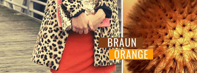 Braun-kombinieren-Braun-und-Orange