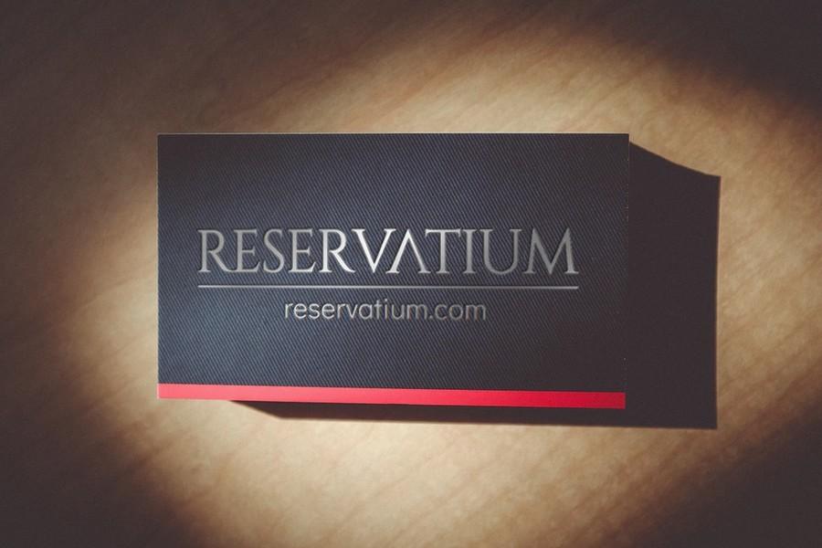 Reservatium Mock Card