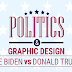 Graphic Designs in Politics: Biden vs. Trump Campaigns #infographic