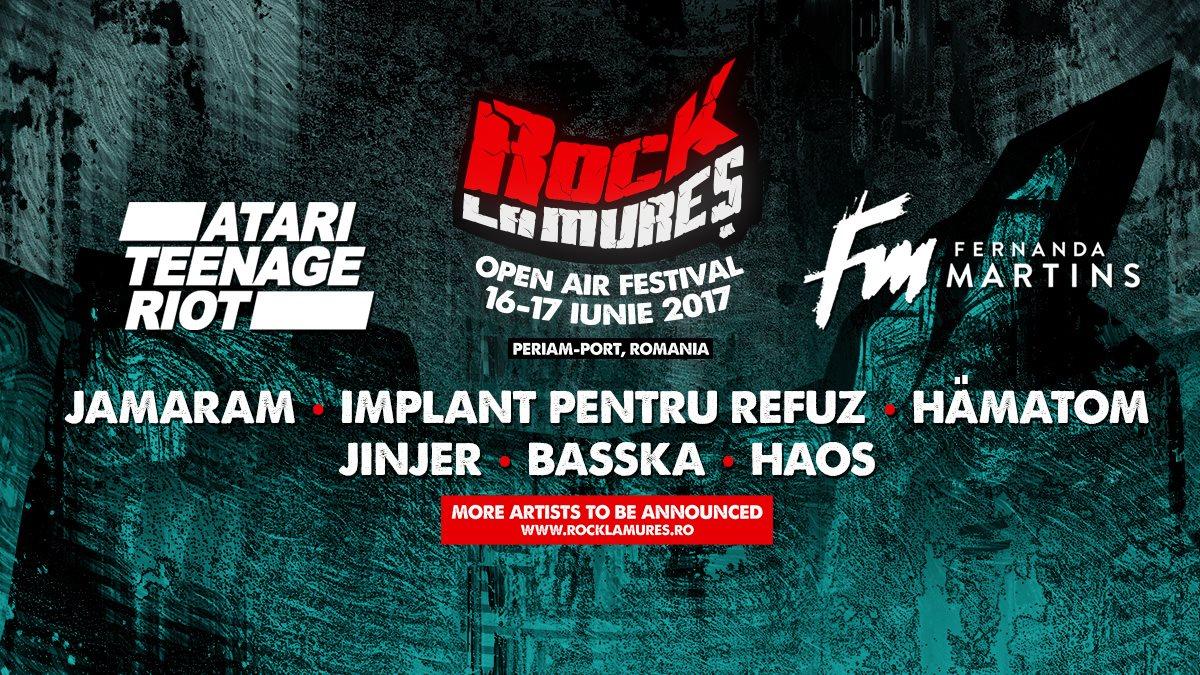 Rock la Mureș revine anul acesta in perioada 16-17 iunie 2017
